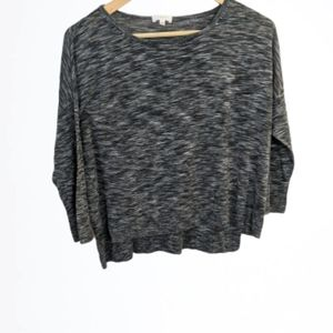 Wilfred grey mix boxy slouchy top size medium